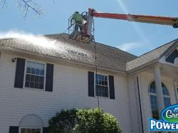 NH MA Powerwash Roof Cleaning Washing