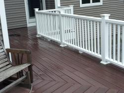NH MA Professional Deck Powerwashing power wash decking