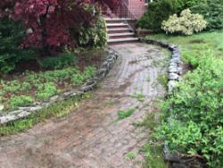 NH MA Patio Walk  Powerwashing