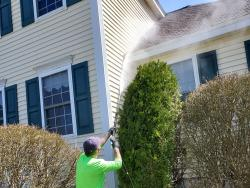nh ma residential powerwashing house wash