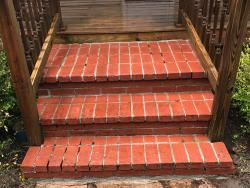 NH MA Brick Steps Powerwashing