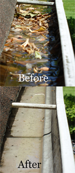 NH & MA Gutter Cleaning