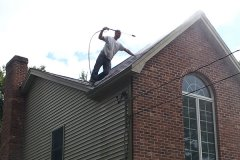 Roof cleaning services North Shore MA