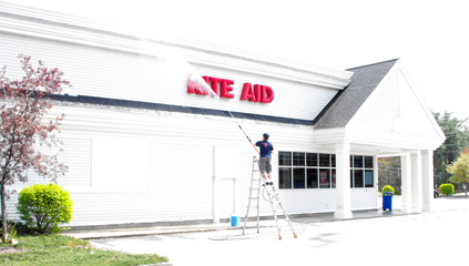 Commercial pressure washing services in NH & MA
