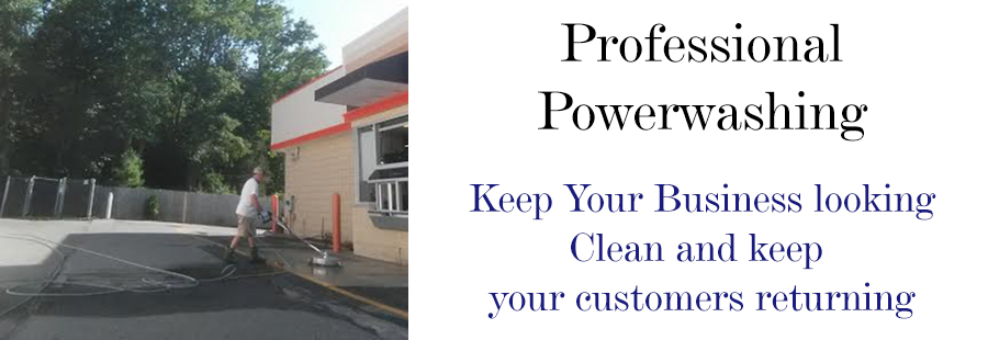 Power washing services commercial buildings MA and NH